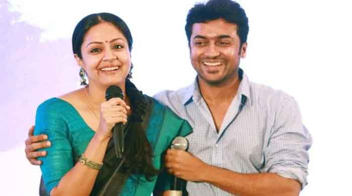 Suriya Supports his Wife